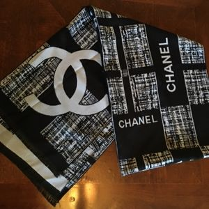 Chanel Cashmere Large Scarf